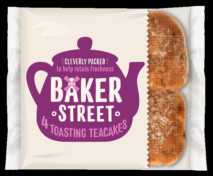 4 Baker Street Toasting Teacakes