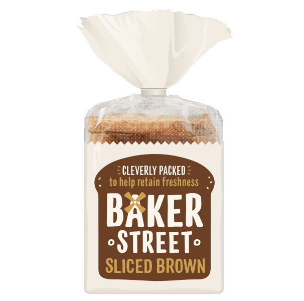 Baker Street Sliced Brown Loaf