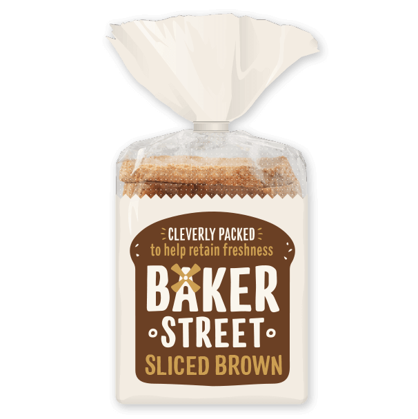 Baker Street Sliced Brown Loaf