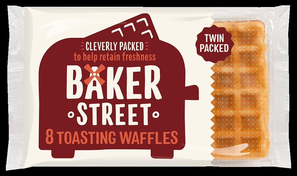 8 Baker Street Toasting Waffles