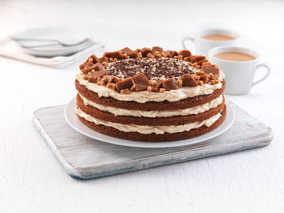 Baker Street 3 Chocolate Sponge Layers Cake