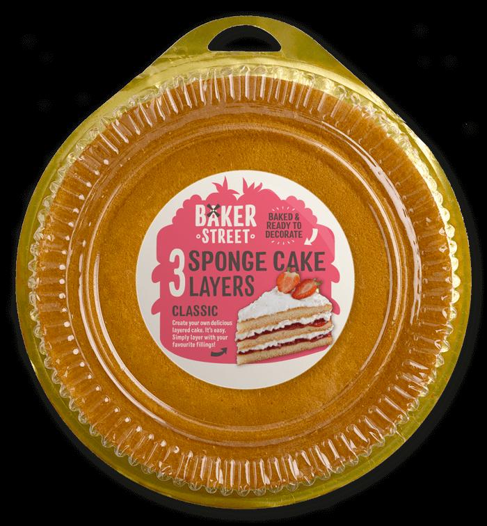 Sponge Cake Layers