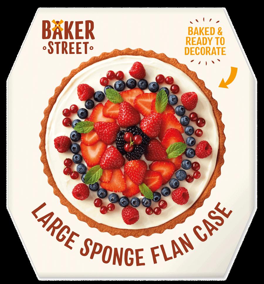 Baker Street NEW Large Sponge Flan Case