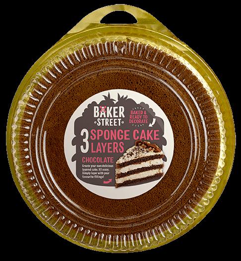 Baker Street Chocolate Sponge Layers
