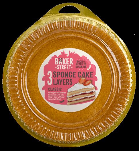 Baker Street Classic Sponge Cake Layers