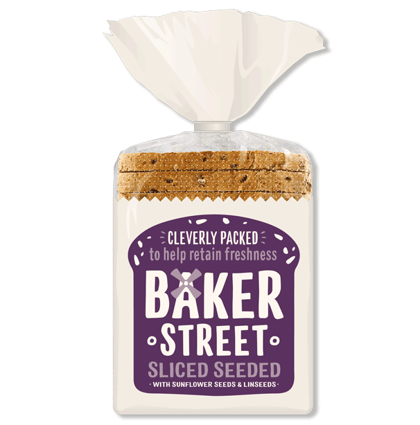 Baker Street Seeded Sliced Loaf