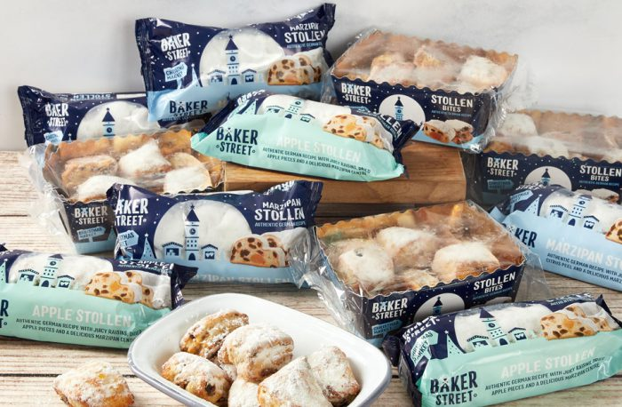 Baker Street stollen products on a table