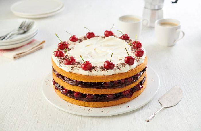 Baker Street 3 Sponge Layers Cherry Cake