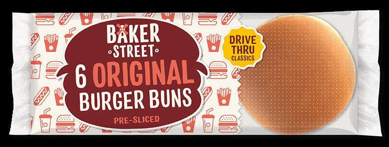 6 Baker Street Burger Buns
