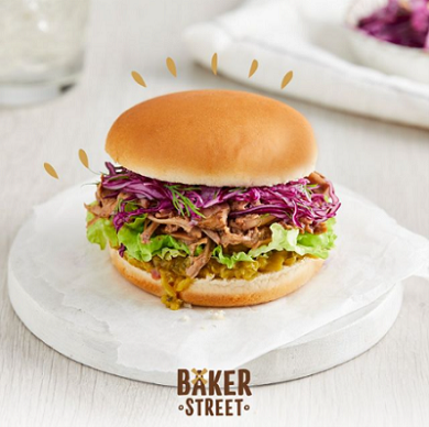 Vegetarian Recipe Ideas Pulled Jack Burger