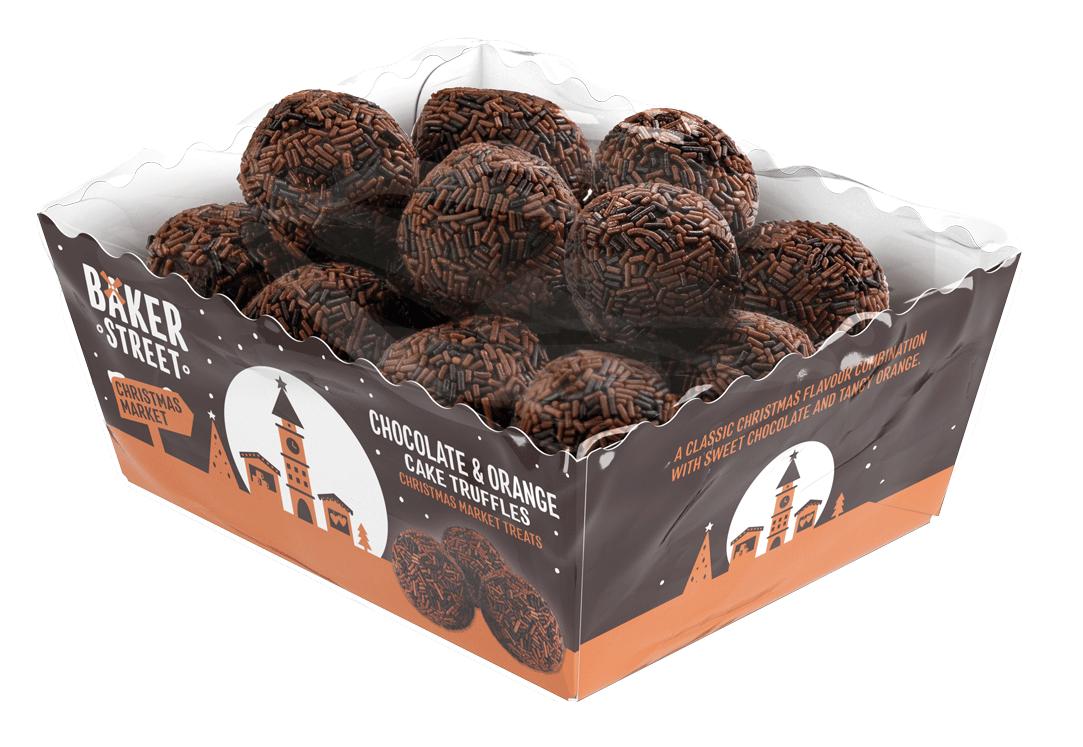Baker Street Chocolate & Orange Truffles