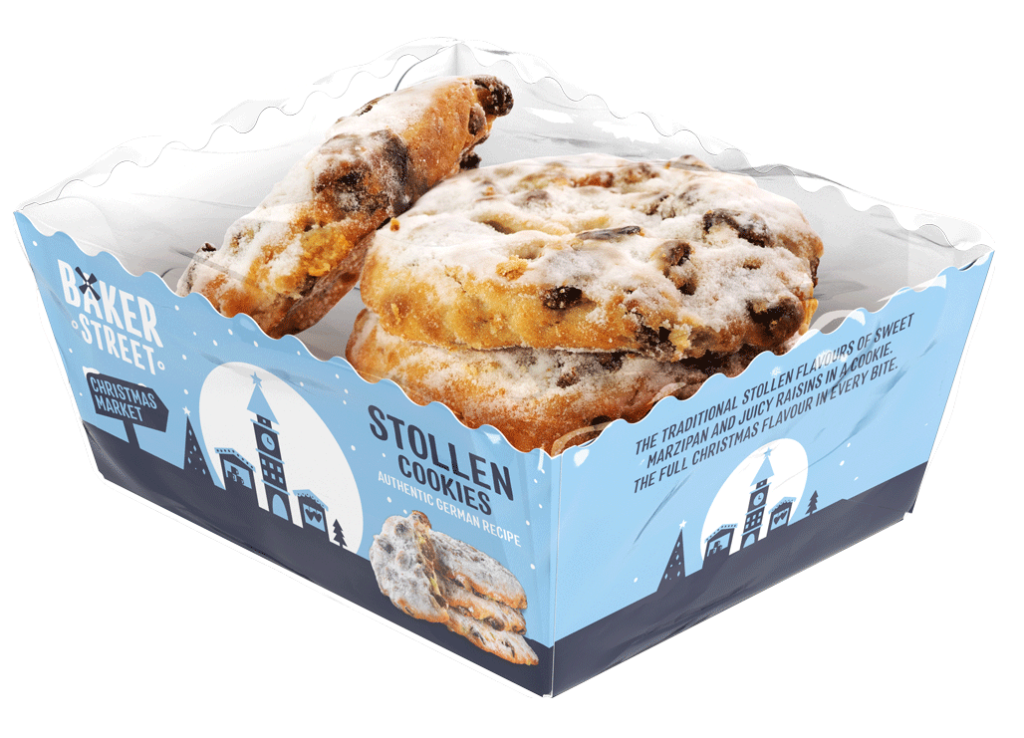 Baker Street Stollen Cookies