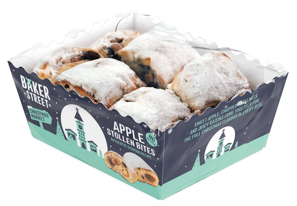 Baker Street Apple Stollen Bites