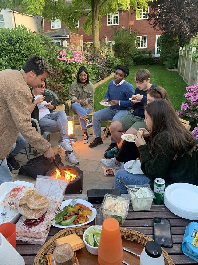 Daniel Rowden Friends BBQ