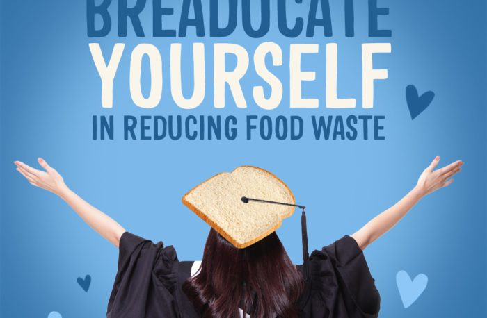 Breaducate yourself in reducing bread waste