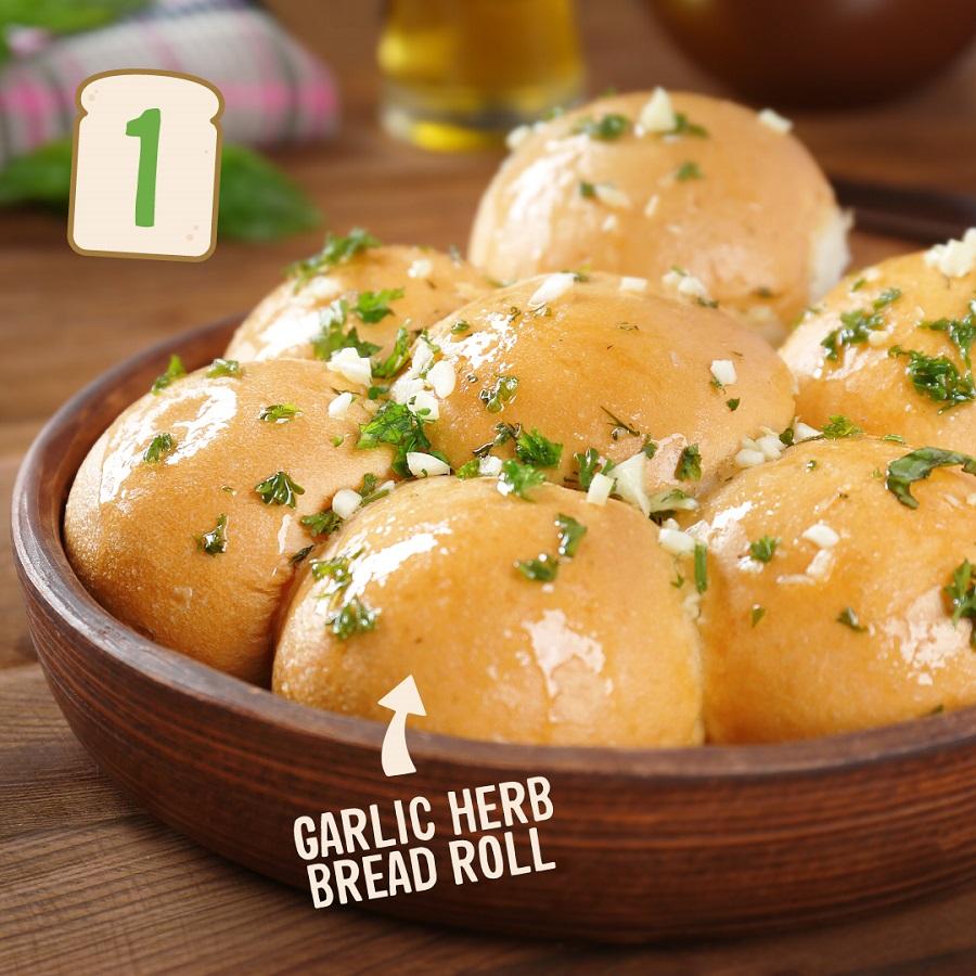 Garlic & Herb Rolls