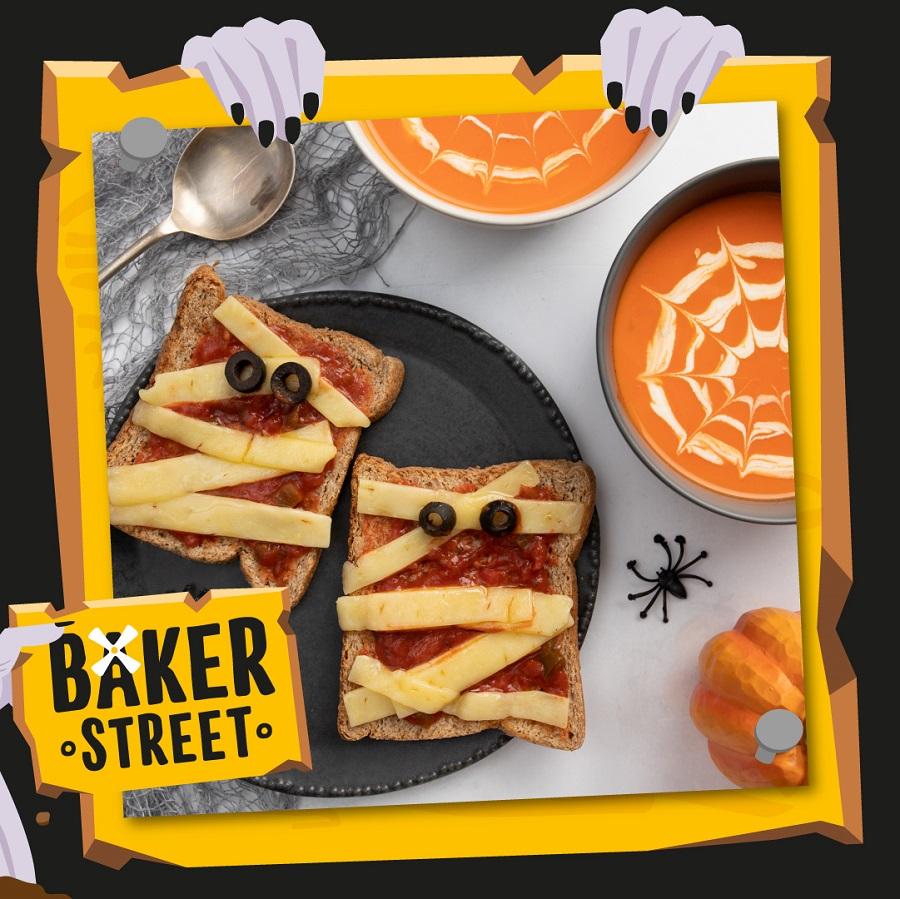 Halloween Recipe Ideas: Spiderweb Soup & Mummy Toast