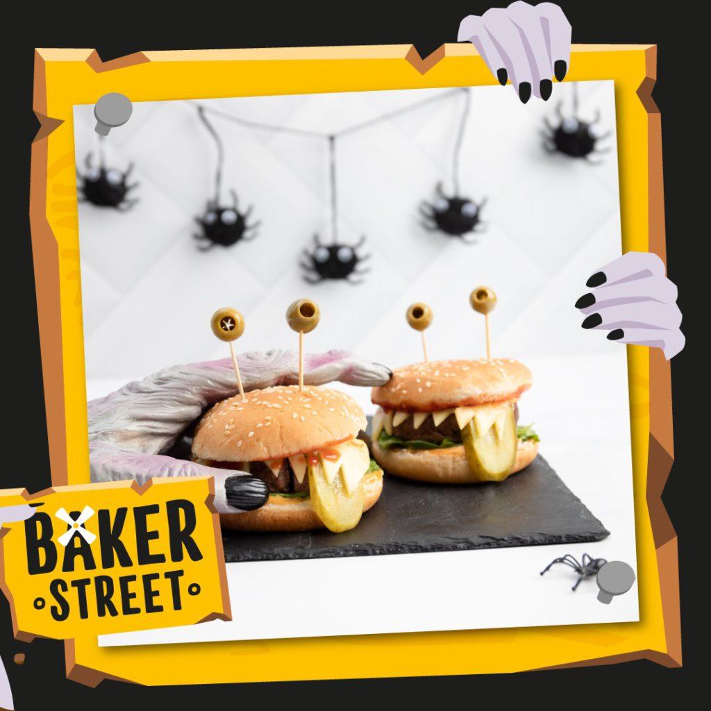 Halloween Recipe Ideas: Monster Burgers